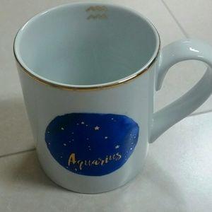 Aquarius Constellation Blue Mug